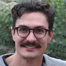 Dr Mike Haydon at the University of York with a very excellent hipster moustache