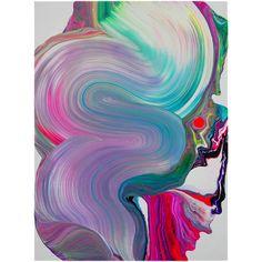 "Yago Hortal, ""KF3"", Acrylic on Canvas, 2010"