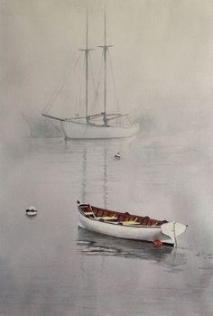 When grey tones and reflections are the order of the day...Thank you ArtTutor member Skotte for this watercolour 'Repose'. ArtTutor Gallery: Get Inspired By The Artwork of Others