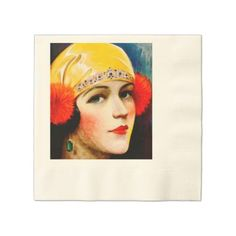 #party - #1920's Coined Luncheon Paper Napkin