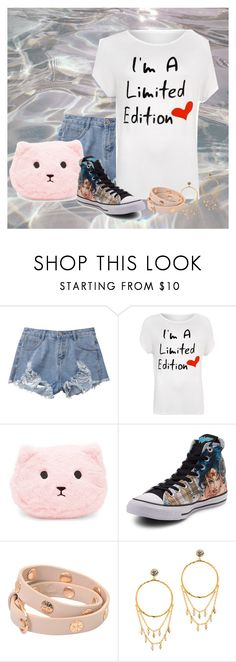 """""""Alessia"""" by ggmusicista on Polyvore featuring moda, WearAll, Forever 21, Converse, Tory Burch, Gorjana e plus size clothing"""
