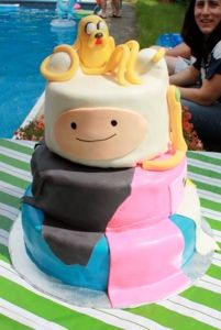 Adventure Time cake......| Suzy Homebaker