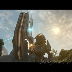 My Halo Reach Screenshot, gamer tag; Vexinglotus941