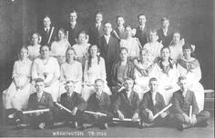 1920 WASHINGTON TWP. 8TH GRADE GRADUATES