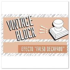 ¿Cómo usar el Vintage Block? Oh My Chalk, Chalk Paint, Vintage, Decor, Decoration, Vintage Comics, Decorating, Deco