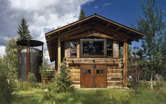 Queens Lane Wine Silo & Shop in Jackson, Wyoming by Carney Logan Burke Architects