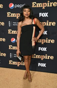 All eyes were on Taraji P. Henson at the season two premiere of Empire in New York City on Saturday. The actress, who was joined by her costars, looked Taraji P Henson Bikini, Empire Cast, Empire Season, Black Actresses, Bikini Clad, Queen Fashion, Black Couples, Celebs, Celebrities