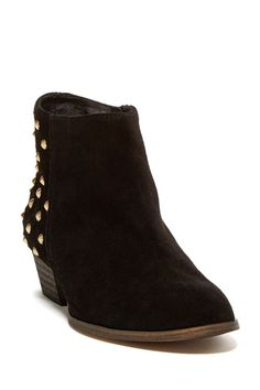 Charles David Urbano Studded Ankle Bootie