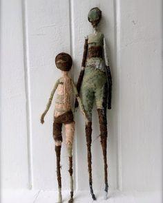 The pale rook Textile Sculpture, Soft Sculpture, Spirited Art, Unusual Art, Arte Popular, Creepy Dolls, Doll Maker, Soft Dolls, Textile Artists