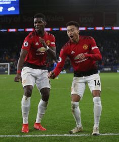 Jesse Lingard of Manchester United celebrates scoring their fifth goal during the Premier League match between Cardiff City and Manchester United at Cardiff City Stadium on December 2018 in. Get premium, high resolution news photos at Getty Images Manchester United Premier League, Manchester United Wallpaper, Manchester United Football, Man Utd Squad, Man Utd Fc, Football Is Life, Football Boys, Lingard Celebration, Lingard Manchester United