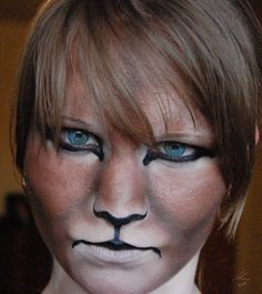 Lion Makeup Designs and Tutorials Lion Makeup, Animal Makeup, Male Makeup, Makeup Art, Tiger Makeup, Sfx Makeup, Lion King Musical, Lion King Jr, Cosplay