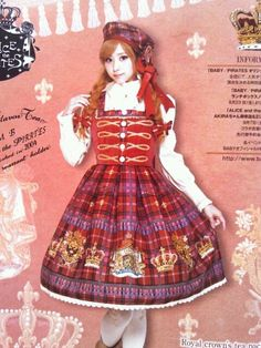 Alice & the Pirates - Royal Crown's Tea Package JSK I (obtained in black)