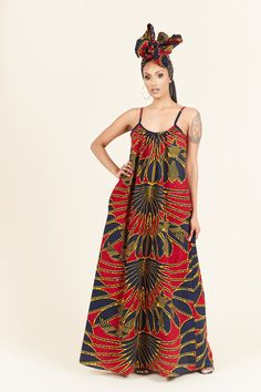 African Print Clothing, African Print Dresses, African Print Fashion, African Dress, African Prints, African Fashion Skirts, Plus Size Vintage Dresses, Ankara Dress Styles, African Attire