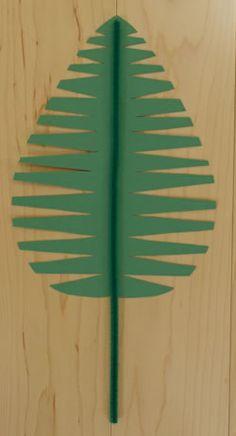 Palm Leaf - MORE PALM Sunday > https://au.pinterest.com/leannedltk/palm-sunday-crafts-for-kids/