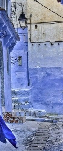 Gorgeous hues of blue