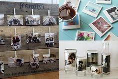 Decorar la casa con fotografías, original y emotivo