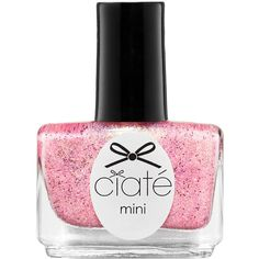 Ciaté Mini Paint Pot Nail Polish and Effects ($8) ❤ liked on Polyvore featuring beauty products, nail care, nail polish, nail, ciaté, formaldehyde free nail polish and ciate nail polish
