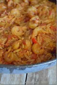 DSC_3631 Garlic Shrimp, Sea Food, Greek Recipes, Quiche, Feta, Spinach, Stuffed Mushrooms, Cooking Recipes, Essen