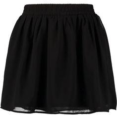 Vero Moda BRAVE Mini skirt ($19) ❤ liked on Polyvore featuring skirts, mini skirts, bottoms, saias, faldas, black, mini skirt, short mini skirts, patterned skirt and black elastic waist skirt