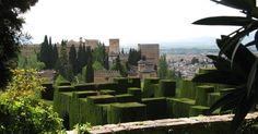Generalife em Granada #viagem #barcelona #espanha