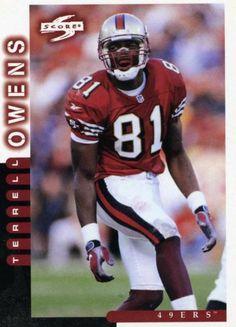 RARE 1998 SCORE TERRELL OWENS SAN FRANCISCO 49ers MINT 49ers Players c315f4a29