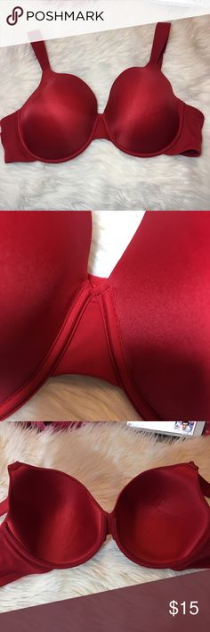 Beautiful Red Full Coverage Bra 42C Great condition no flaws  -I do not accept offers in the comments so please make all reasonable offers using the offer button only. :)  -NO TRADES  -NO HOLDS 🚫 -I ship every Tuesday and Thursday  Your purchase is going to help me graduate community college with as little debt as possible. Thank you! 6/13 avenue body Intimates & Sleepwear Bras