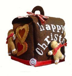Porta Panettone 102 Pattycrea #Blomming #sweet #christmas #handmade #gingerbreadman