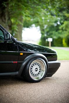 I miss these wheels.BBS wheels on a Scirocco Volkswagen, Volkswagen Golf Mk1, Volkswagen Jetta, Golf 2, Black Audi, Vw Cars, Modified Cars, Sport Cars, Bugatti