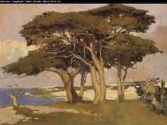 Arthur Mathews : California Landscape painting. One of my fav painters.