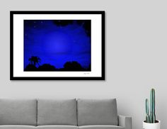 Discover «Florida Stary Stary Nite», Limited Edition Fine Art Print by Glink - From $29 - Curioos