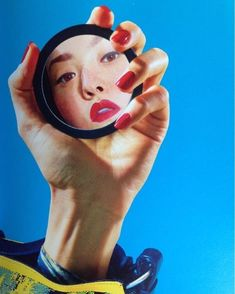 Oh you fancy huh? _____________________________________ by Maurizio Cattelan and Pierpaolo Ferrari for Kenzo SS 2014  #mauriziocattelan #pierpaoloferrari #mirror #mirrormirroronthewall #nails #rednails #beauty #makeup #voltinspiration #voltmag #volt #kenzo #ss14 #throwback #kenzine #toilerpaper #colour #cours #primarycolours  via VOLT MAGAZINE OFFICIAL INSTAGRAM - Celebrity  Fashion  Haute Couture  Advertising  Culture  Beauty  Editorial Photography  Magazine Covers  Supermodels  Runway…