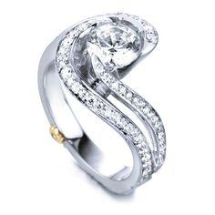 Mark Schneider #EngagementRing #DiamondsAreForever