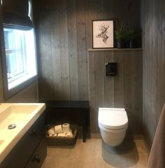 Cabin Interiors, Wood Paneling, Painting On Wood, Cabin Fever, Sweet Home, Floor Plans, Flooring, Bathroom, House Styles