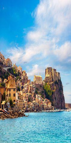Castle Scilla in Calabria, Italy: