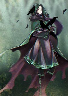 Crowgirl by AinLavendra on DeviantArt