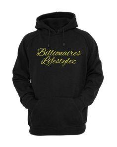 Billionaires LifeStylez Black & Gold Hoodie