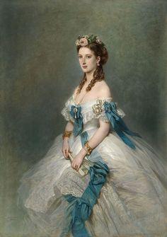 Franz Xaver Winterhalter, Victorian Portraits, Victorian Paintings, Victorian Art, Princess Alexandra Of Denmark, Princess Of Wales, Portraits Victoriens, Reine Victoria, Princess Aesthetic