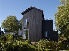 brunsvart beis er et populrt alternativ for moderne hus - Moderne Huser 2015