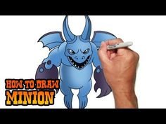 How to Draw Minion- Clash of Clans- Video Lesson - YouTube