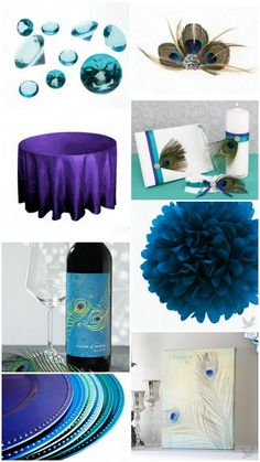 2012 Wedding Trends: Peacock Themed Wedding Ideas