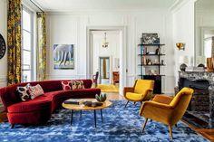 Na Argentina, Luis Laplace nasceu, cresceu e se formou arquiteto. Mas foi em Paris que abriu seu escritório ao lado de Christophe Comoy, em 2004. Na foto, o pied-à-terre da artista americana Cindy Sherman na Rive Gauche de Paris. Clique para saber mais sobre o trabalho do arquiteto!