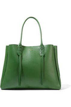 Lanvin | The Shopper small leather tote | NET-A-PORTER.COM