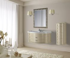 Мебель для ванных комнат Mobili di Castello: Contemporanei #hogart_art #interiordesign #design #apartment #house #bathroom #furniture #MobilidiCastello #shower #sink #bathroomfurniture #bath #mirror