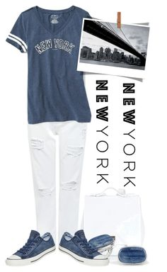 """""""Untitled #9321"""" by queenrachietemplateaddict ❤ liked on Polyvore featuring Edit, Old Navy, Proenza Schouler, BillyTheTree, Converse, 1Wall and Newyork"""