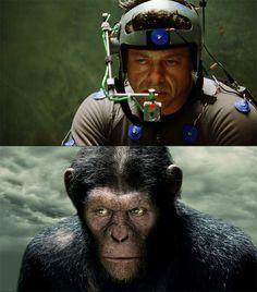 Rise of the Planet of the Apes - Andy Serkis, a great actor!