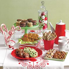 Easy Christmas Cookies: Christmas Cookies Spread