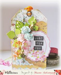Quill and Punch Works: Mixed Media' Celebrate' Card !