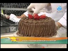 Santa Receita   Torta de Morango com Creme de Avelã por Renata Ibãnês - 06 de Abril de 2015 - YouTube