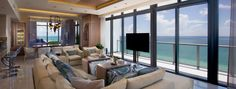 Miami Beach Penthouses, South Beach Penthouses, South Beach Luxury Condos, and Miami Luxury Penthouses - MansionsInTheSkies