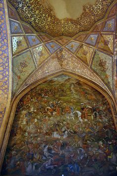 Chehel Sotun Palace / Isfahan, Iran